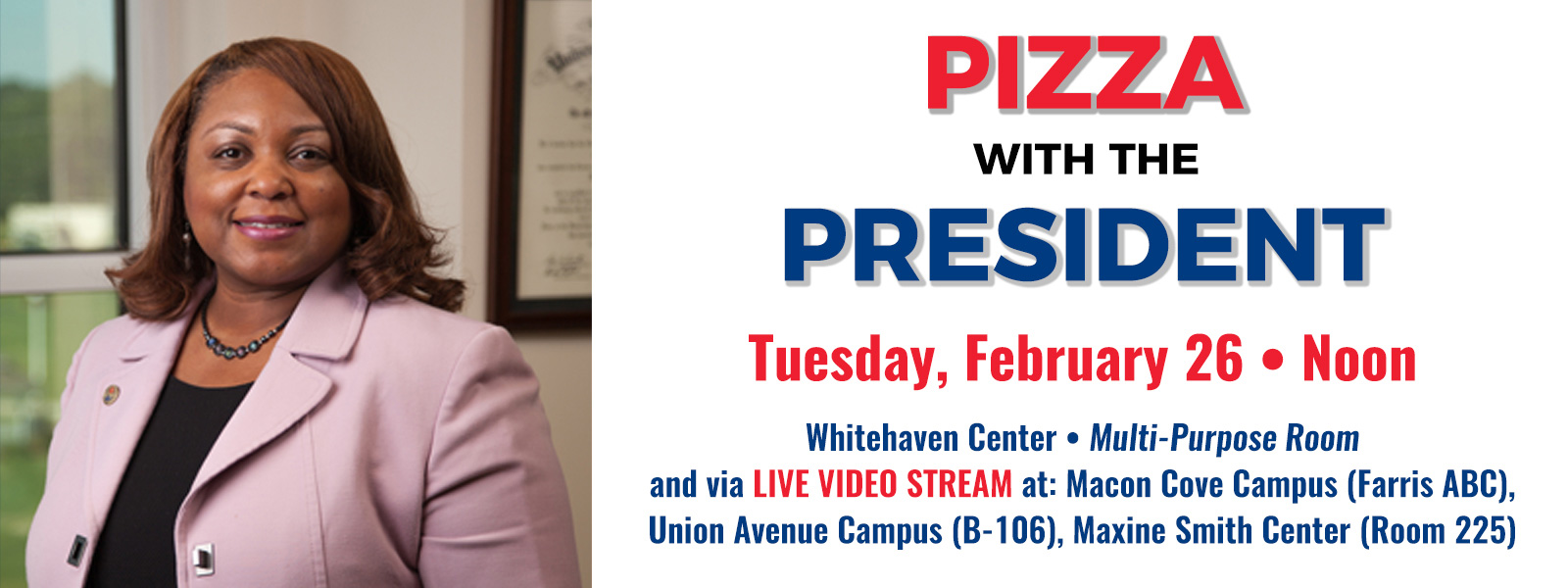 Pizza with the President